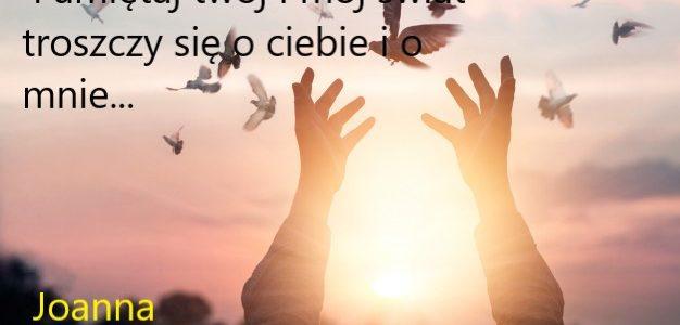 Chcesz być szczęśliwy  zacznij  się od siebie…